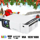 Portable LED Projector Home Theater Cinema Beamer HDMI USB VGA AV 1920*1080