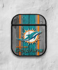 Miami Dolphins Case for AirPods 1 2 3 Pro protective cover skin md1 $15.99 USD on eBay