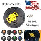 Motorcycle Keyless Gas Fuel Tank Cap CNC Oil Cover For Yamaha YZF R3 2014-2019