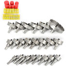Carbide Tip TCT Drill Bit Hole Saw Kit Wood Stainless Metal Alloy Set 15-100mm