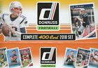 2018 DONRUSS NFL FOOTBALL COMPLETE  TEAM SETS W/ ROOKIES YOU PICK/CHOOSE  TEAM $3.99 USD on eBay