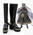 Re:CREATORS Military Princess Altair Cosplay Boots Shoes Custom made size