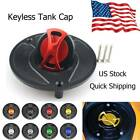 Keyless Motorcycle Fuel Gas Tank Cap Oil Cover Fit For Honda CBR954RR 2002-2019