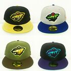 NWT New Era Minnesota Wild NHL 59Fifty Fitted Hats $34.0 USD on eBay