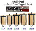 AuSable Brand Hardwood Maple Veneer Trappers Trapping Pack Basket - AdirondackTrapping Supplies - 71108