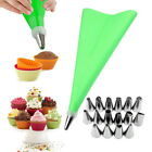 Cake Decorating Kit Supplies Set Tools Piping Tips Pastry Icing Bags Nozzles18pc