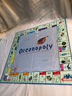 Monopoly Ocean-opoly Late for the Sky Parts:Tokens, Money, Property Cards, Board