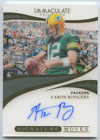 2019 Panini Immaculate AARON RODGERS AUTO ACETATE Signature Moves Autograph #/10