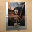 Vintage 1981 HEAVY METAL Movie PROMO POSTER! 24x18