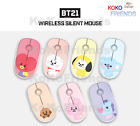 BTS BT21 Official Baby Character Wireless Silent Mouse KPOP Goods Authentic MD