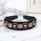 Women Baroque Crystal Hair Band Embellished Rhinestone Headband Accessory Crown
