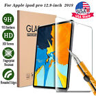 Premium Tempered Glass Screen Protector For iPad Pro 12.9 inch 3rd Gen 11 2018
