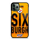 PITTSBURGH STEELERS NFL 100 iPhone 6/6S 7 8 Plus X/XS Max XR 11 Pro Case $15.9 USD on eBay