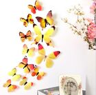 12pcs PVC 3d Butterfly Home Wall Decor Cute Butterflies Wall Stickers Decoration, used for sale  Shipping to Nigeria