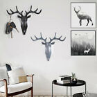 Antler Adhensive Wall Hook Key Holder Letter Rack Hanger Hanging Decor CoatKTP