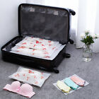 Waterproof Dustproof Clothes Bag Cosmetic Travel Zipper Organizer Storage Holder
