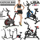 Adjustable Exercise Bike Stationary Bicycle Gym Cardio Workout Machine for sale  Shipping to Nigeria