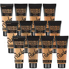 Rude Double Trouble Foundation + Concealer 2-in-1 Linen, Fair, Warm, Natural