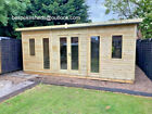 GARDEN OFFICE SUMMER HOUSE TANALISED SHED HEAVY DUTY