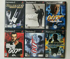 007 Agent Under Fire, Nightfire, From Russia with Love, Goldeneye, Quantum  PS2