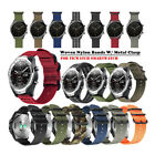 Durable Military Nylon Watch Band Strap Metal Buckle For TicWatch Pro S2 E2 C2 E
