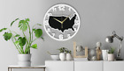 USA Map Wall Clock Gift Silent Non-Ticking Kitchen Living Bed Room 190