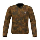 Merlin Covert Camo Tan Wax Cotton Jacket Waterproof Motorcycle Jacket NEW
