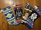 "NEW DISNEY STAR WARS 18"" CHRISTMAS STOCKINGS - VARIOUS DESIGNS AVAILABLE $12.5 USD on eBay"
