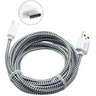 Type-C 6ft USB Cable Charger Cord Power Wire Long Braided Fast for USB-C Phones