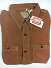 Levis Vintage Clothing LVC Deluxe Shirt Brown Levi's Vintage Clothing Levi