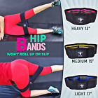 Speed Agility Training Performance Resistance Workout Non Roll Loop Bands Set  image