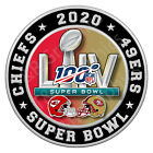 Super Bowl 54 Championship Kansas City Chiefs, San Francisco 49ers NFL football $12.00 USD on eBay