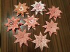 Handmade Origami 8 Point Star (30 Assorted Patterns)