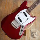 Fender Japan Mg69 Mustang Candy Apple Red for sale