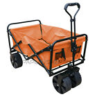 SANDY Foldable hand wagon cart trolley for offroad beach garden and camping s