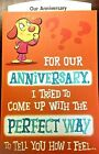 OUR FUNNY ANNIVERSARY CARD for HUSBAND or WIFE ANNIVERSARY Halmark 12 Choice 205
