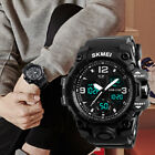 Men's LED Military Digital Sports Wrist Watch Outdoor Practical Waterproof Watch image