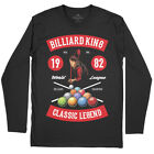 Billiard Sport T-Shirt Snooker Pool Master World Cue 8 Ball Table Classic C317LS $18.52 USD on eBay