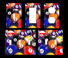 BILLIARDS BALLS POOL Light Switch Covers Home Decor Outlet MULTIPLE OPTIONS $4.49 USD on eBay