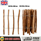 Hazel Wood Wooden Picket Fence Roll Garden Patio Lawn Border Edge Impregnated Uk