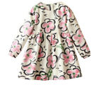 TODDLER GIRLS DRESS 100% COTTON PINK FLOWERS NEW NWT EASTER