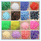 5000 pcs AB Jelly Round Rhinestones Nail Art New FlatBack Beads 2,3 ,4,5,6mm #02