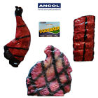 Ancol BBQ Mix Squeaky Vinyl Dog Puppy Toy Steak Chicken Drumstick Ribs