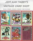 1980 TOPPS FOOTBALL 353-528 U-PICK FROM SCANS $0.99 USD on eBay
