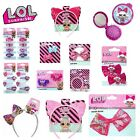 Girls Official L.o.l Lol Surprise Character Hair Bow Clip Bobbles Jewellery Uk