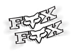 Fox Racing Decal, QTY Vinyl Stickers (Buy 1 get 2) Free Shipping