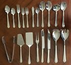 Lot of Hampton Silversmiths SS Flatware Portrait With Gold Accent #196 Choice