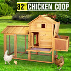 Large Walk-in HeavyDuty Chicken Coop Run Backyard Hen House Poultry Cage Outdoor