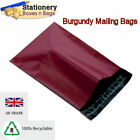 STRONG BURGUNDY Mailing Bags 4.5