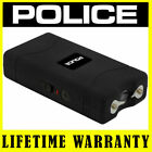 POLICE Stun Gun Mini 800 BLACK 335 BV Rechargeable LED Flashlight